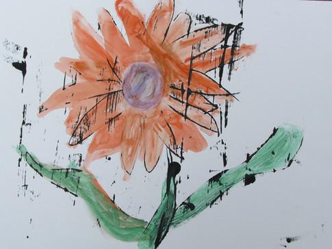 Orange Sunshine by Alea Griffin