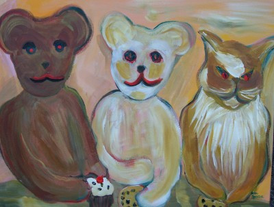 Bears Tea Party by Anne Ambrose