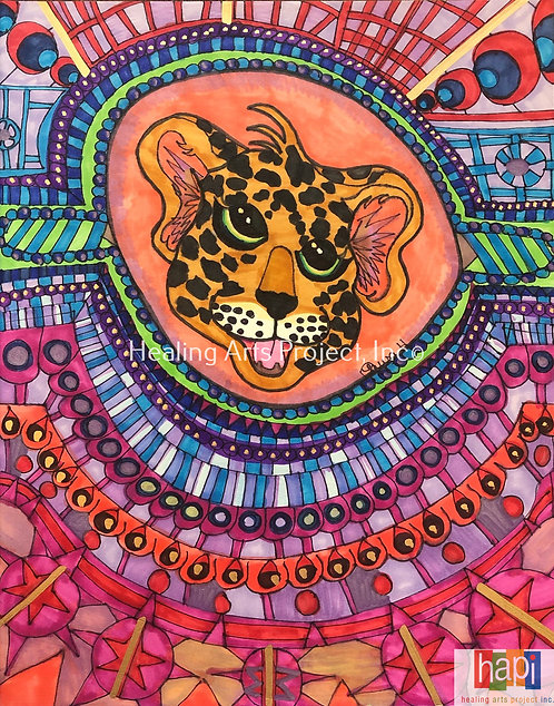 Cheetah Kaleidoscope