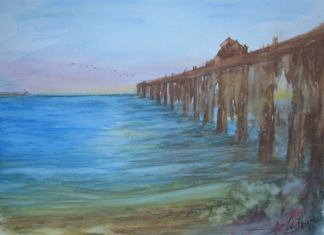 The Wharf by Shree Lynn Brown McGruder
