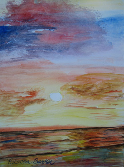 Florida Sunset by Rebecca Barker