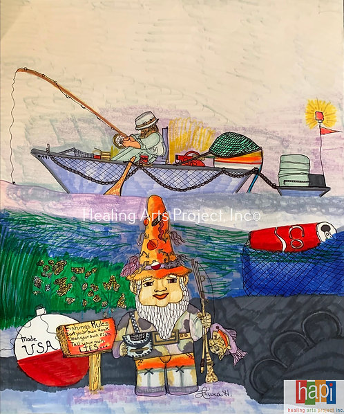 Gnome Fishing