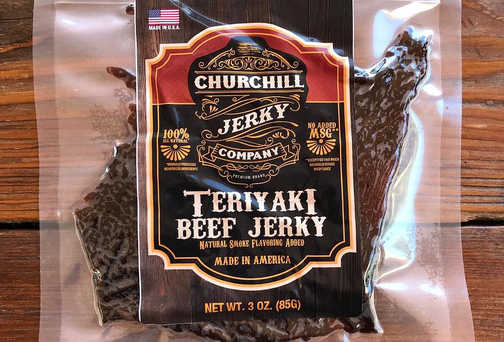 Churchill Jerky -  Teriyaki 3 oz