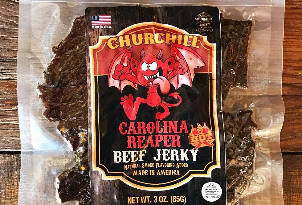 Churchill Jerky -  Carolina Reaper 3 oz