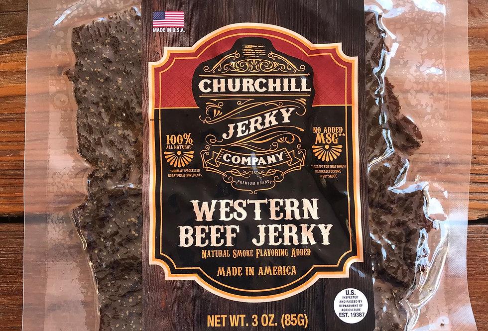 Churchill Jerky -  Western 3 oz