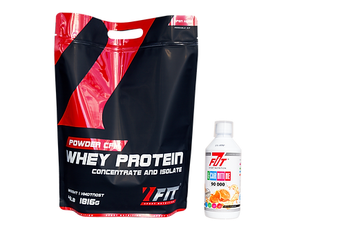 7Fit CFM Whey Protein 1816g + 7Fit Carnitine 90 000 500ml