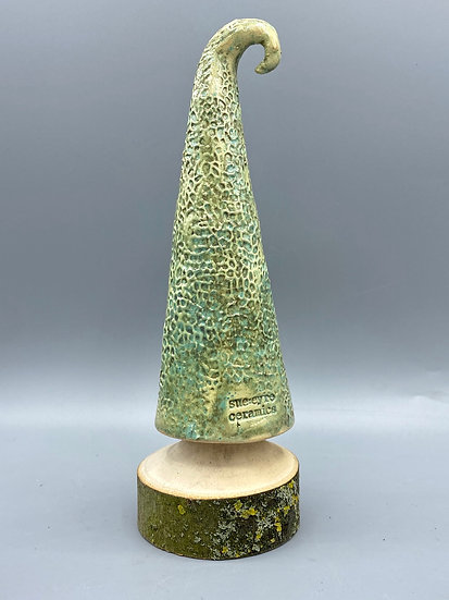 T1 Tall dimpled green tree