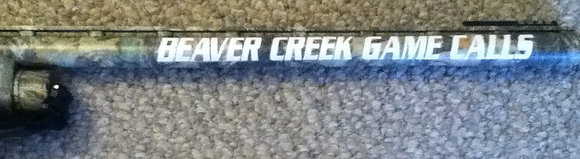 Beaver Creek Game Calls Barrel Decal
