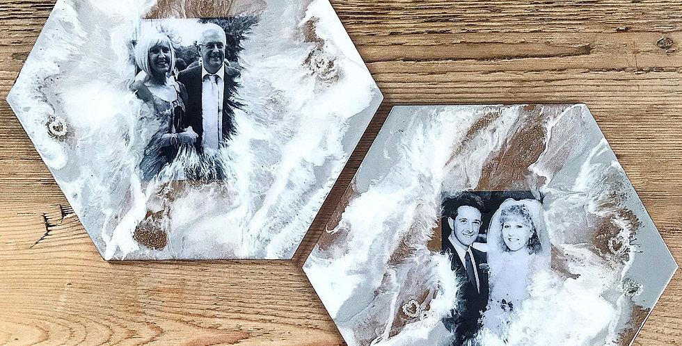 Custom Family + Friends Resin Photos