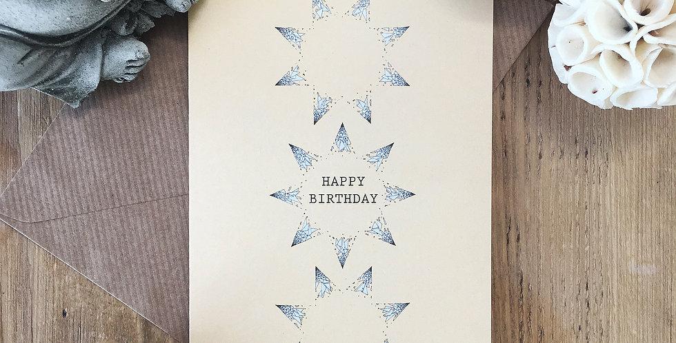 Pastel Yellow Birthday Card