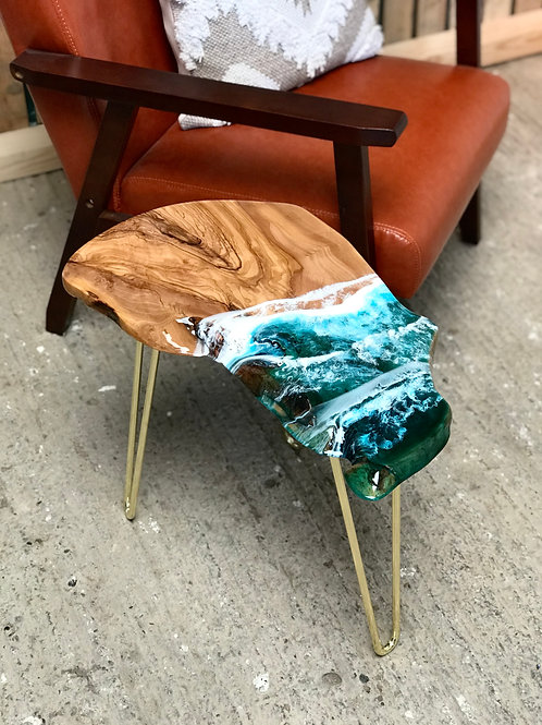 Teal Sea, Coffee Table