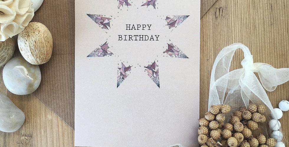 Illusion Birthday Card