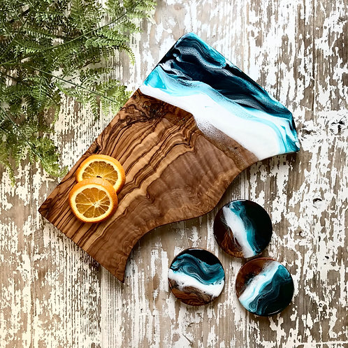 Teal Sea, Medium Rectangle