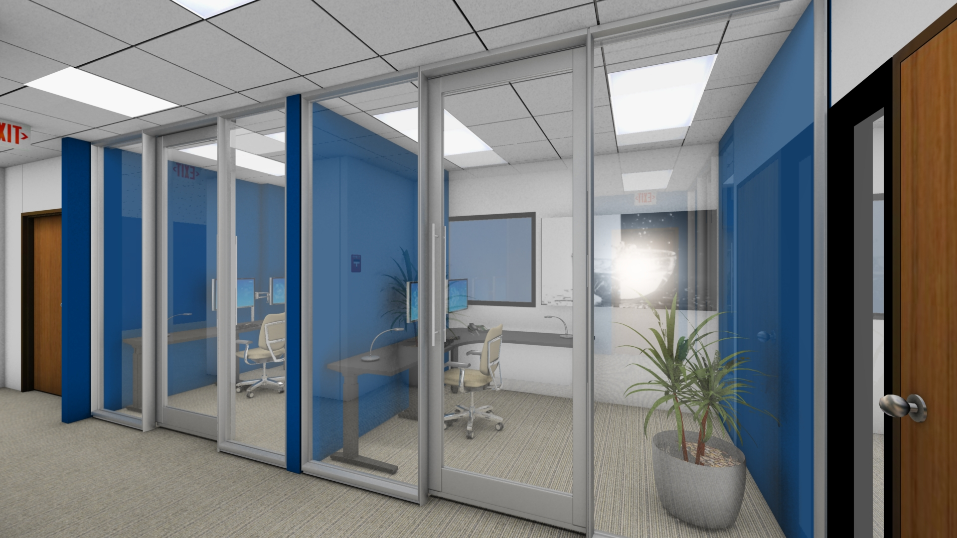 Rendering Office Fronts