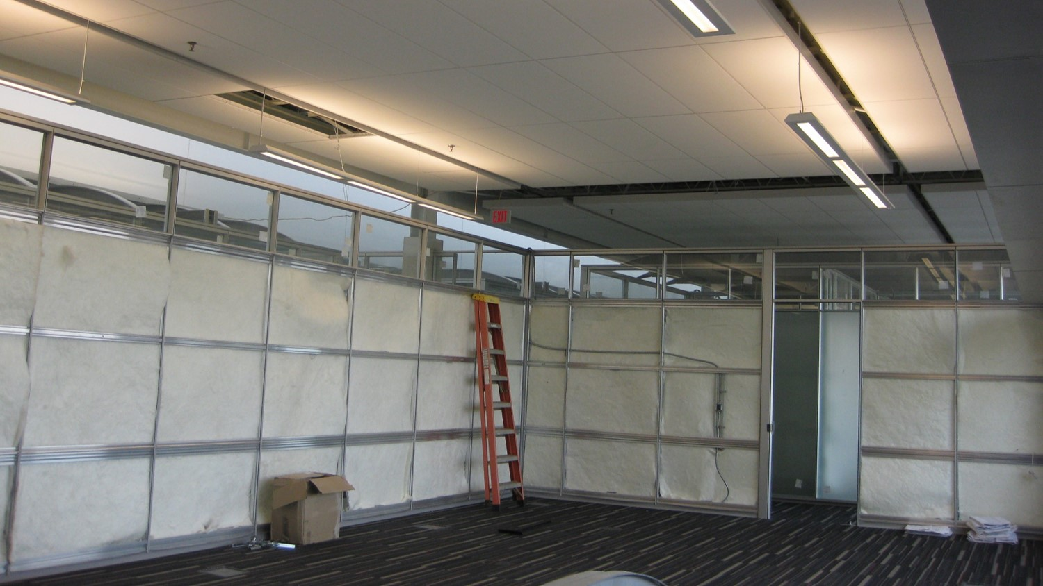 DIRTT Installation - Ready for Inspections
