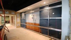 DIRTT Installation - Media Wall