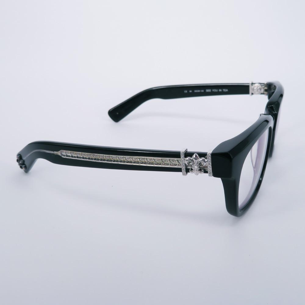 クロムハーツ眼鏡アフターダイヤ