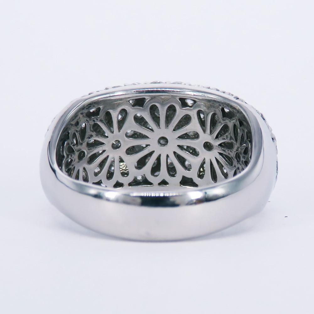 プラチナパヴェダイヤリング加工
