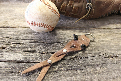 baseball glove leather Key chain