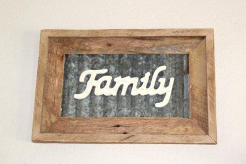 Barn Tin Family