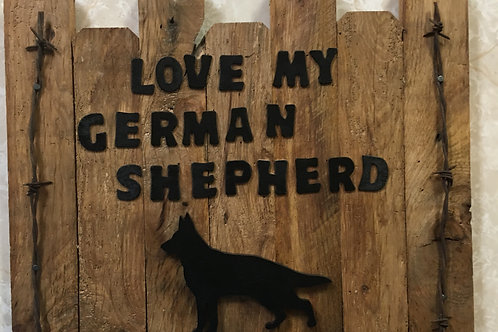 reclaimed wood wall plaque