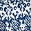 Thumbnail: COBALT LOTUS (BLUE/WHITE) - SCRUNCHED BOTTOM (petite)