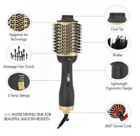 Hot Air Brush Dryer