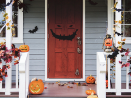 Trying to buy a BOO-tiful home but don't have a large savings?