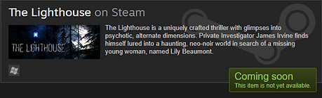 The Lighthouse on Steam Image