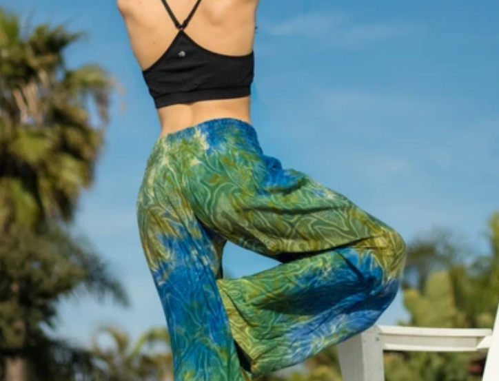MYSTICAL GODDESS (GREEN/BLUE) - FLARES