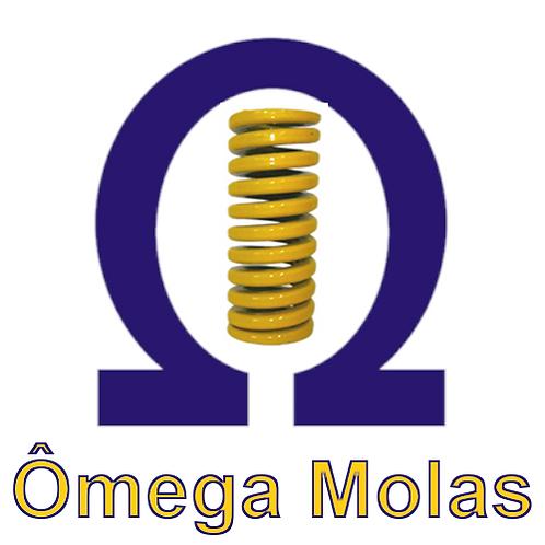 Mola amarela OMC 40178-CEP (kit 4 pçs)