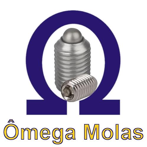 Posicionador OM615.4 m16 INOX (kit 10 pçs)