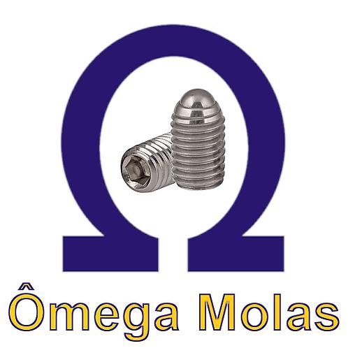 Posicionador OM615.3 INOX m20x50 (kit 5 pçs)
