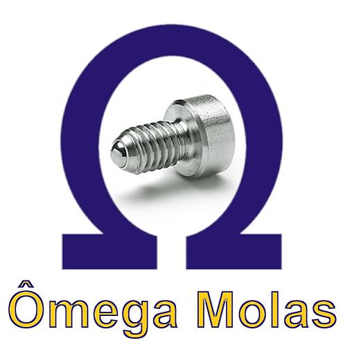 Posicionador OM 815.1-M12 INOX (kit 10 pçs)