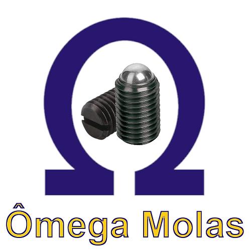 "Posicionador OM615 1/2"" x 35 UNC (kit 10 pçs)"