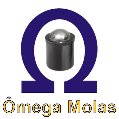"Posicionador OM614 Poliacetal"" - 5x10 (kit 10 pçs)"