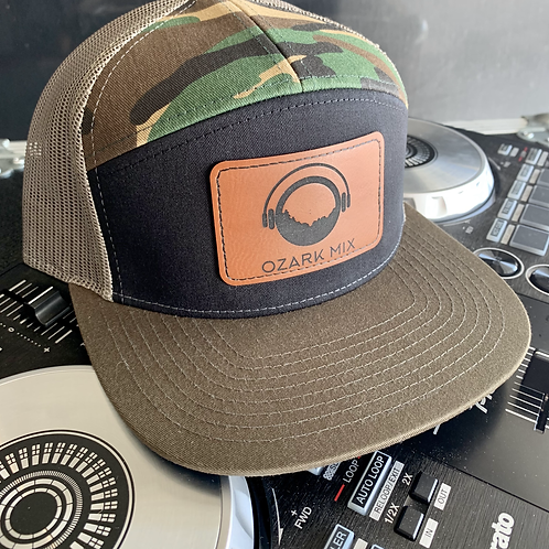 Oz Mix Camo DJ Spinner Hat