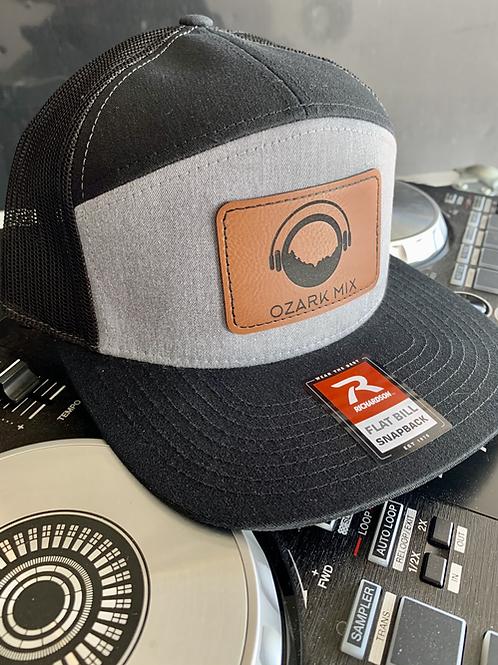 Oz Mix Black & Grey DJ Spinner Hat