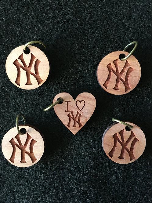 "Stitch Marker Set- ""Yankees"""