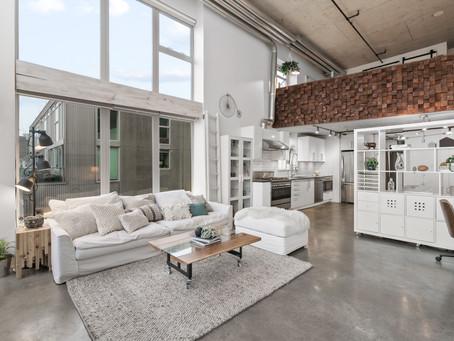 Concrete Loft Space | Vancouver Real Estate Photographer