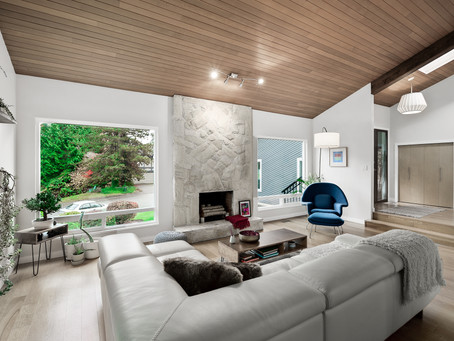 Mid Century Modern Home in Delta   Vancouver Real Estate Photography