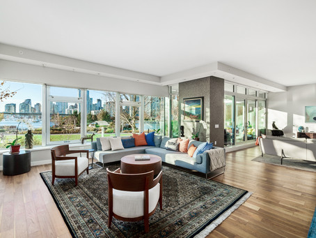 Vancouver Real Estate Photography - $5M Olympic Village Condo