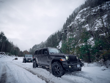Vancouver Video Production | Jeep Wrangler in Squamish