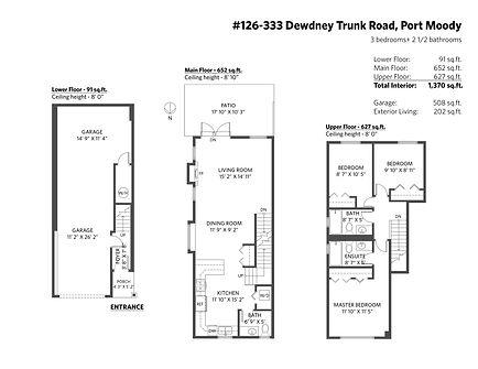 Vancouver 2D Floor Plan