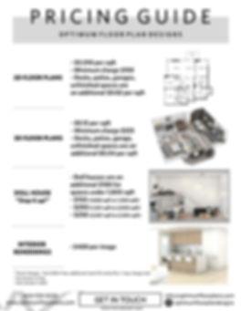 Vancouver Floor Plan Pricing