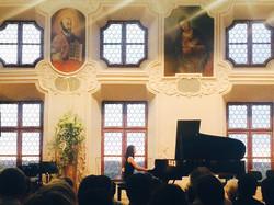 Zoe is performing in Germany