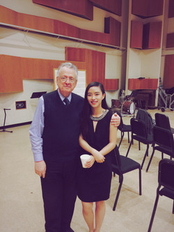 Zoe and Prof. Vincent Lenti