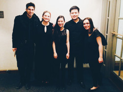 Zoe with her performers