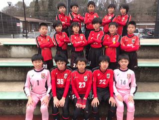 Uー12 卒業記念サッカー大会に参加させて頂きました。