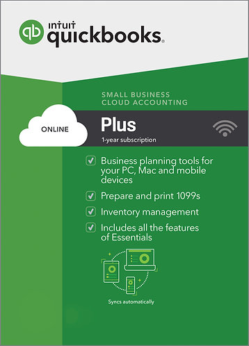 QuickBooks Online Plus Monthly Subscription